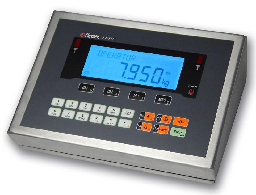 FT-112 gewichtsindicator Image
