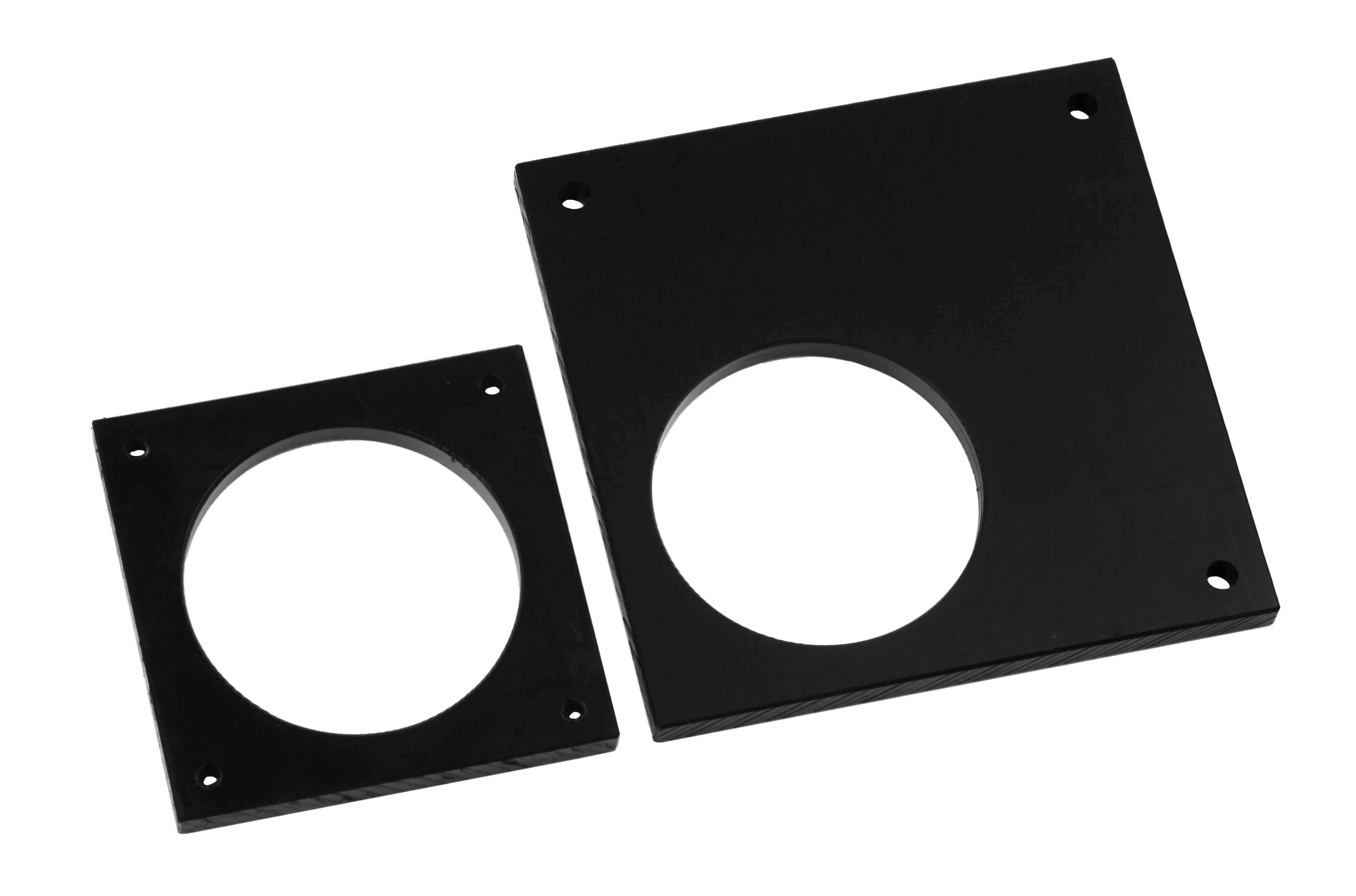 fixatieplaten (fixation plates - geschikt voor rubber voet type 52-02, 52-10, 52-15) Image