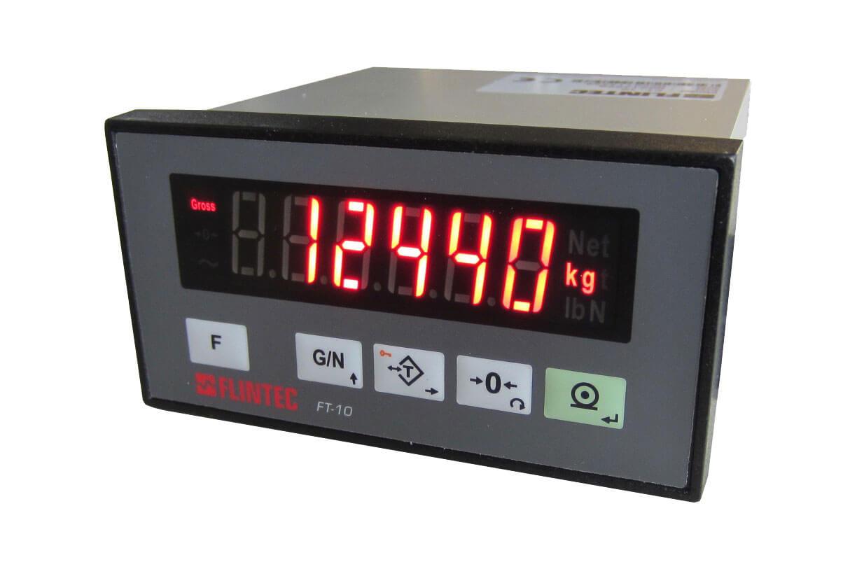 FT-10 flow gewichtsindicator (voor continue dosering met constante, stabiele producttoevoer) Image