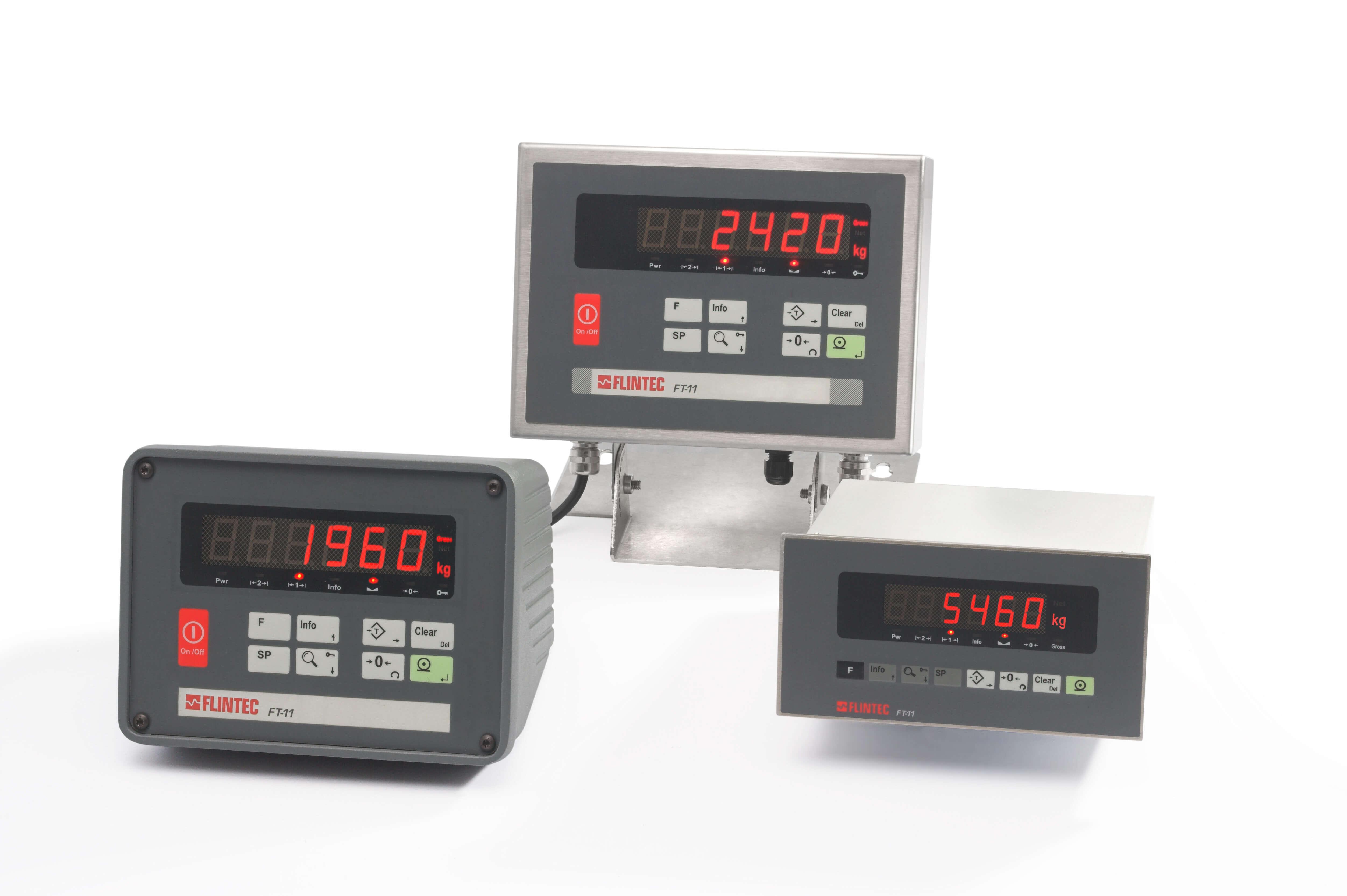 FT-11 gewichtsindicator (wordt vervangen door FT-111) Image