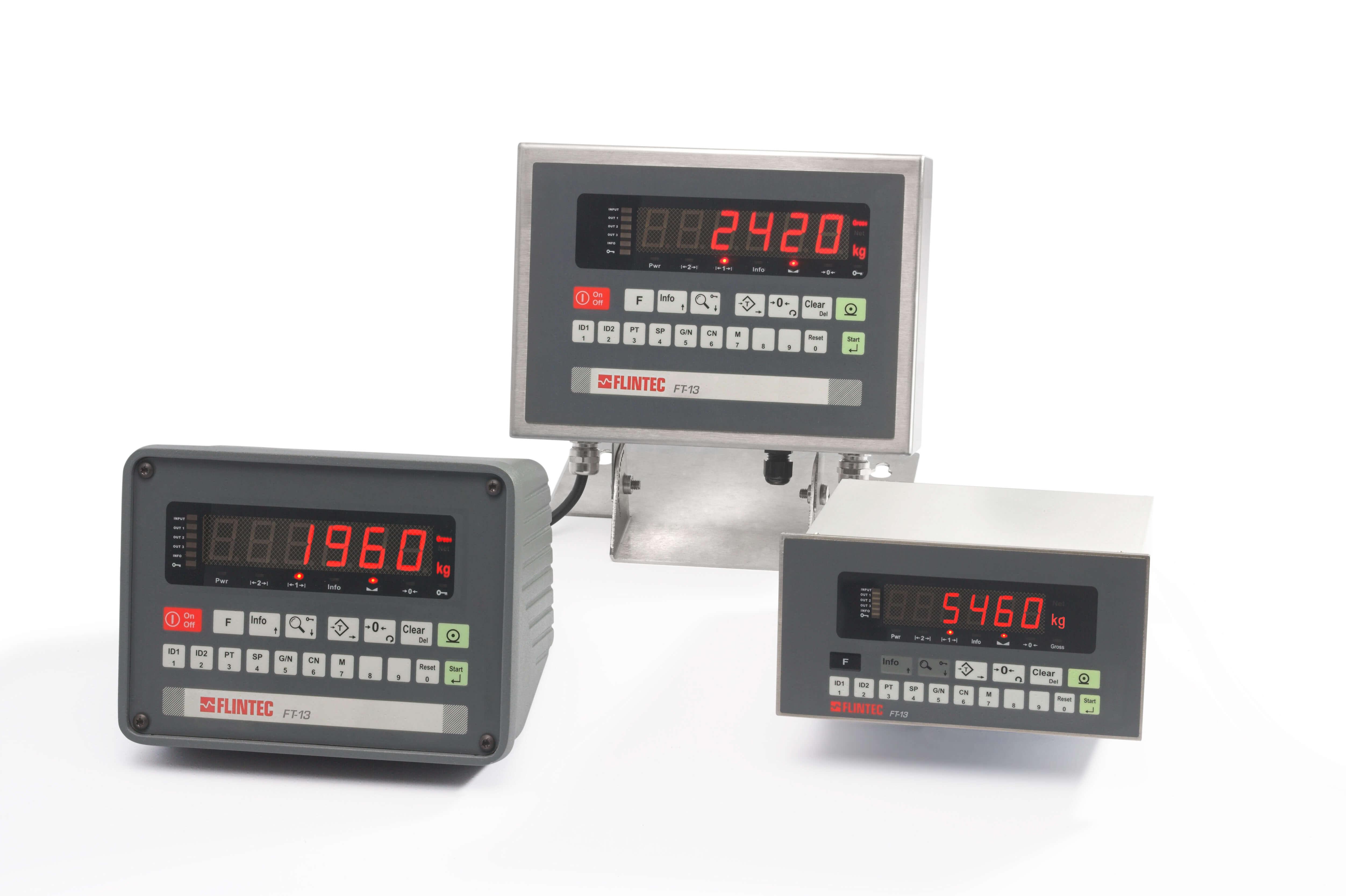 FT-13 gewichtsindicator (voor doseren en afvullen) Image