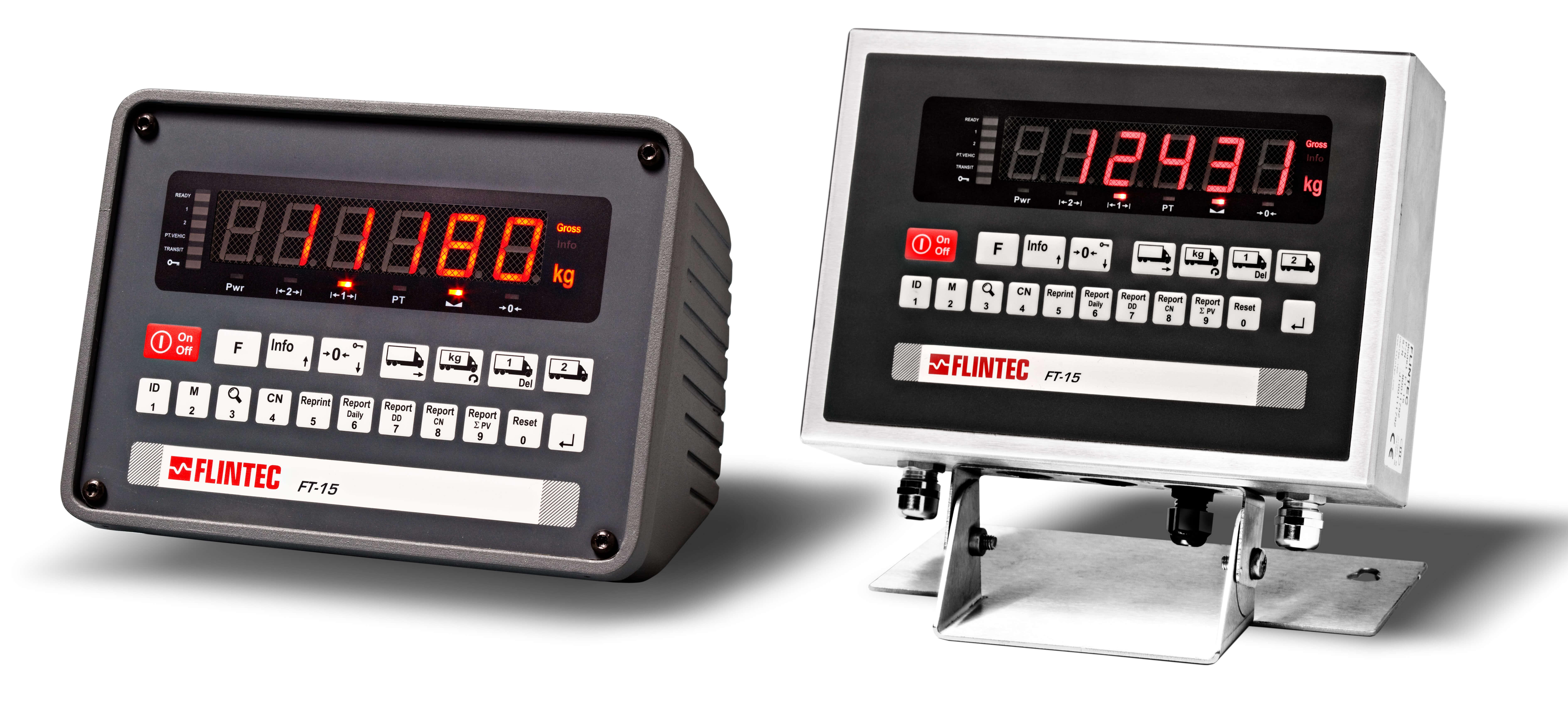 FT-15/-15D gewichtsindicator (speciaal voor weegbruggen) Image